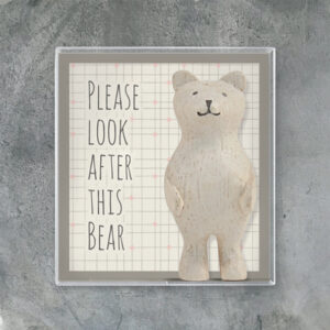 East of India Boxed Bear