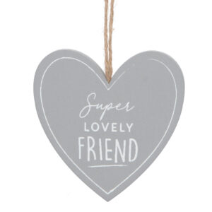 Gisela Graham 'Super Lovely Friend' Hanger