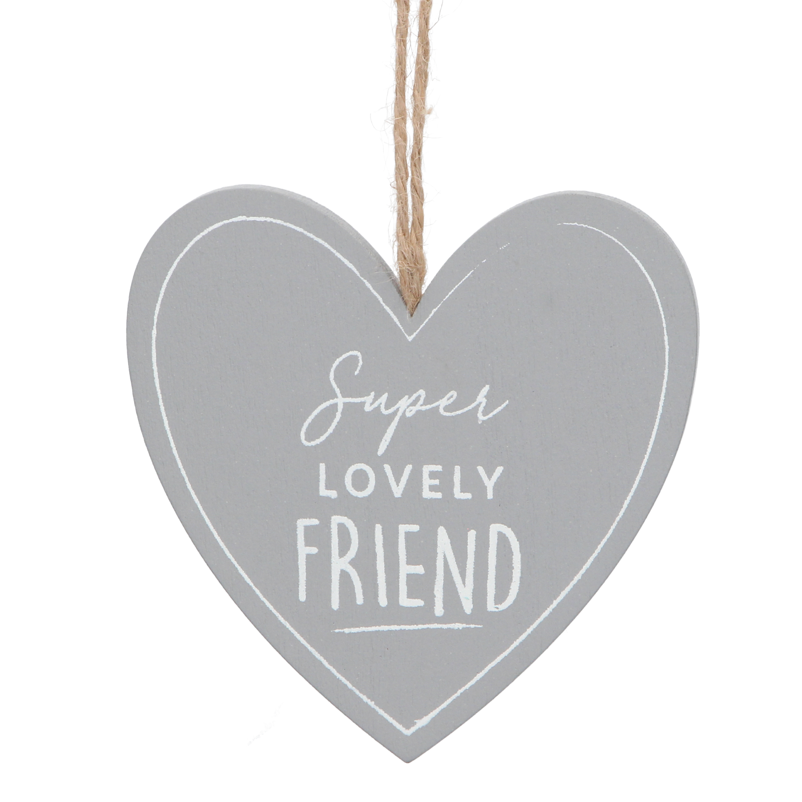 Gisela Graham 'Super Lovely Friend' Hanger