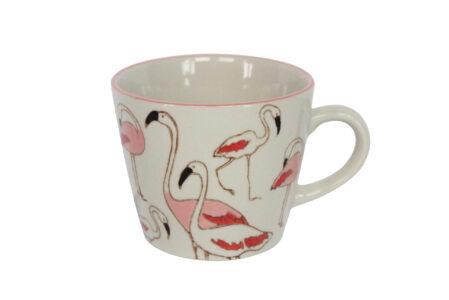 Gisela Graham Flamingo Mug