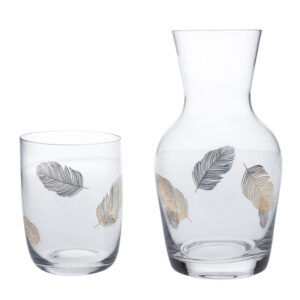 Gisela Graham Decanter and Glass (Collection Only)
