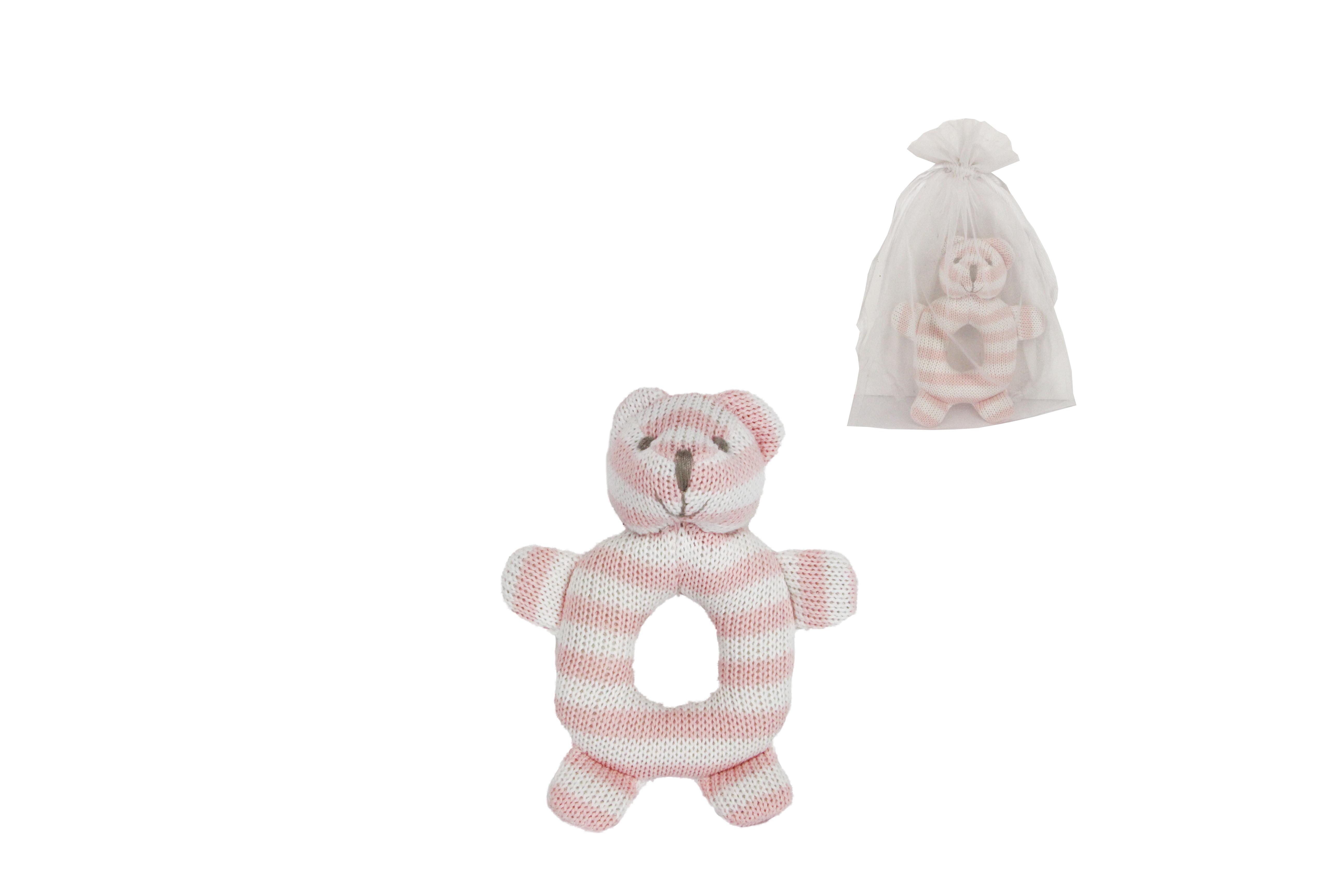 Gisela Graham Knitted Ring Toy