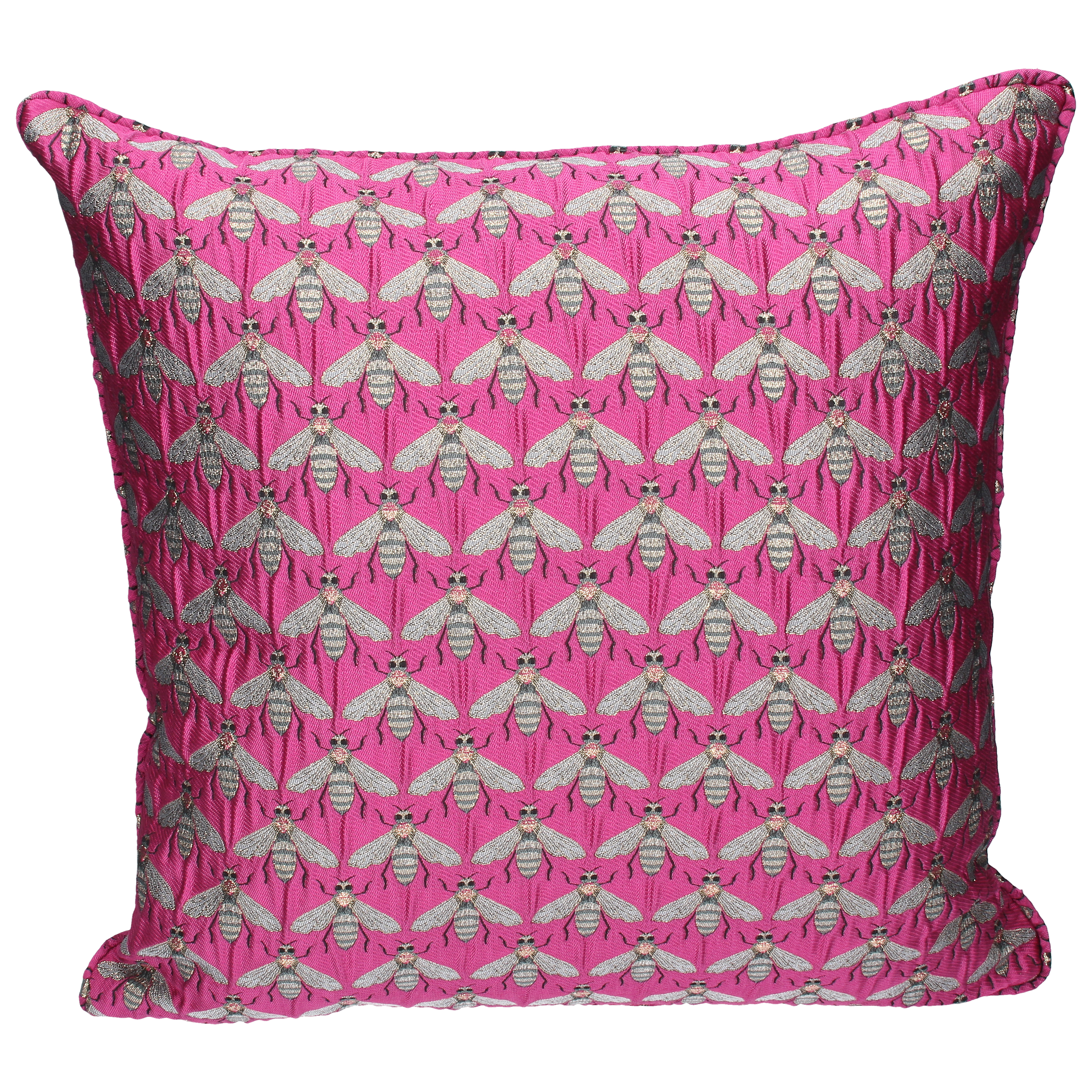 Gisela Graham Pink Bee Pillow