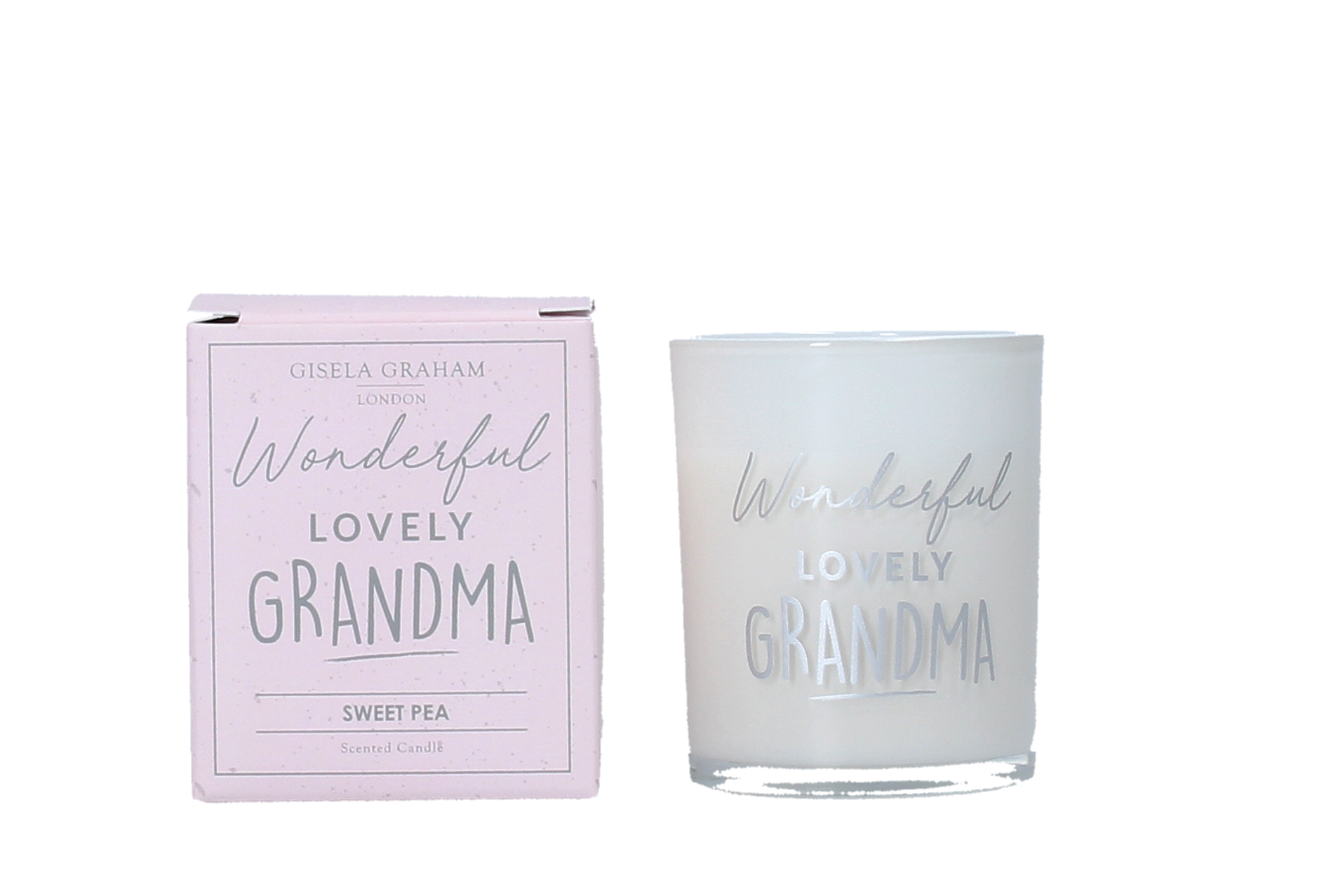 Gisela Graham 'Wonderful Lovely Grandma' Candle
