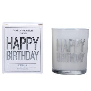 Gisela Graham 'Happy Birthday' Candle