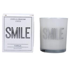 Gisela Graham 'Smile' Candle