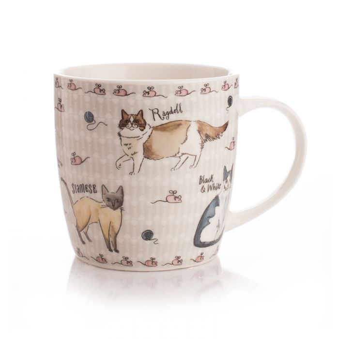 Milly Green Curious Cats Mug
