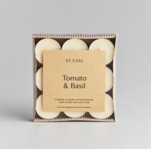 St Eval Tomato & Basil Tealights