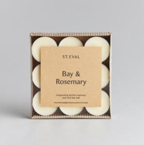 St Eval Bay & Rosemary Tealights