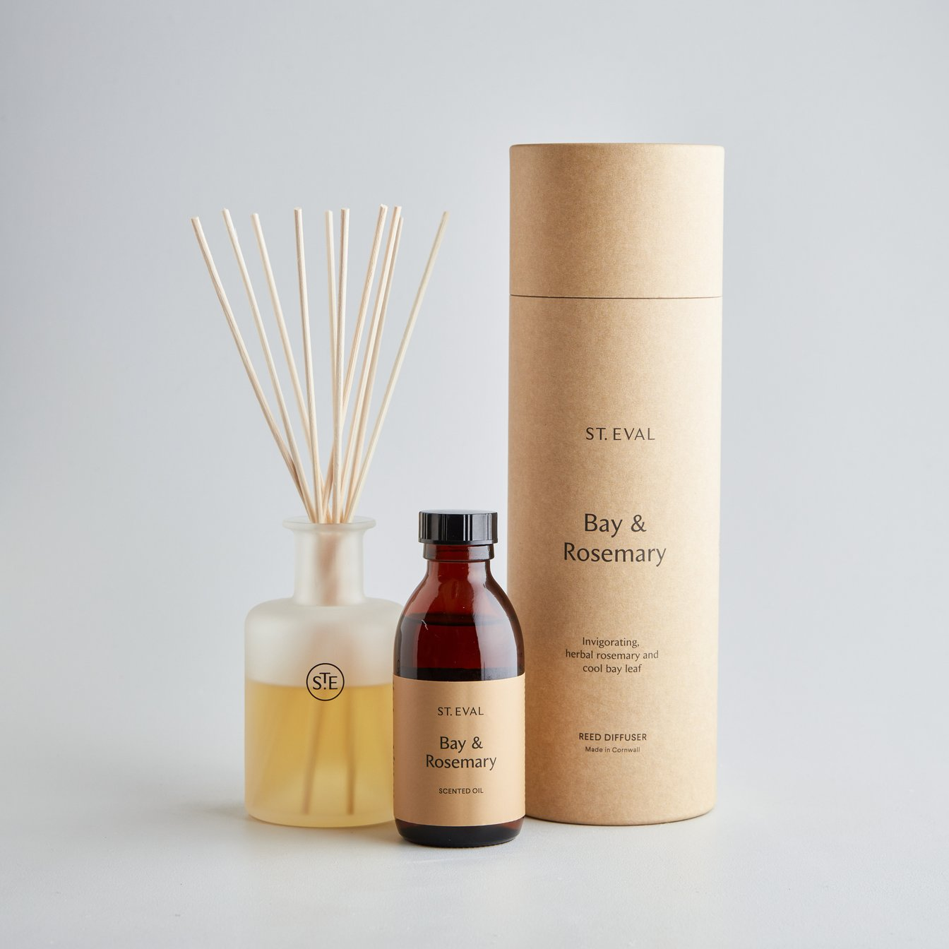 St Eval Bay and Rosemary Diffuser