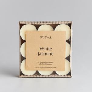 St Eval White Jasmine Tealights