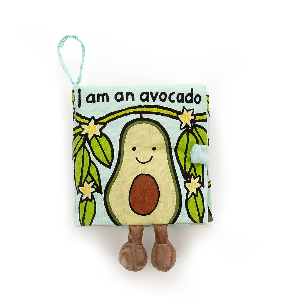 Jellycat Avocado Fabric Book
