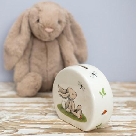 Jellycat bashful bunny ceramic money box