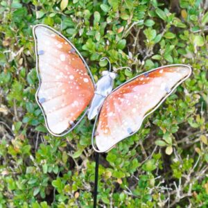 Adobe Garden Butterfly Stake - Various Colours