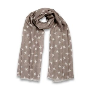 Katie Loxton Wrapped Up In Love Boxed Scarf 'Wonderful Mum' Oatmeal