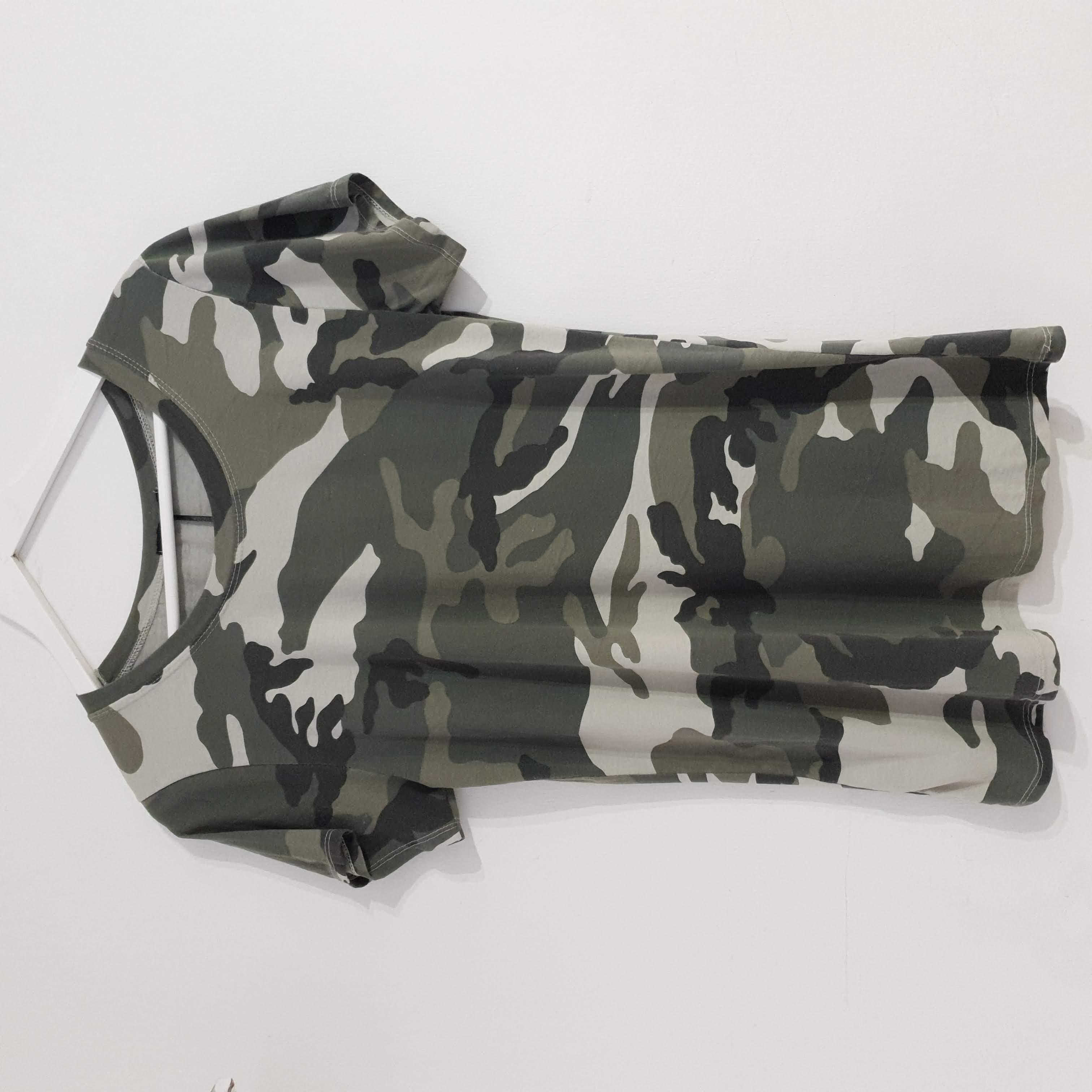 Studio Khaki Camouflage T-Shirt
