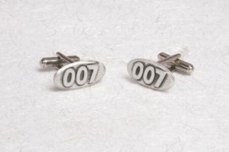 Metal Planet 007 Cuff-links