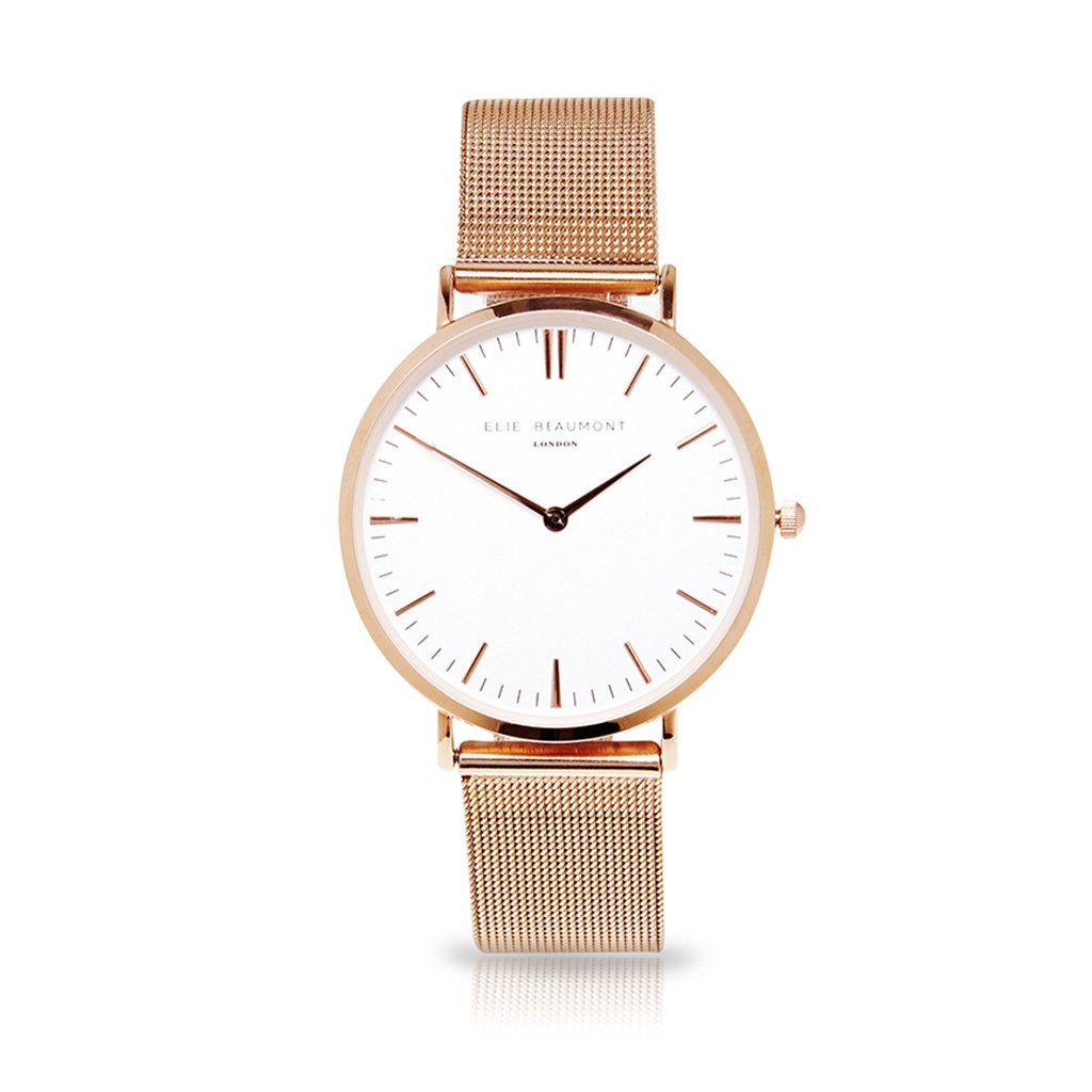 Elie Beaumont Oxford Small Mesh Rosegold