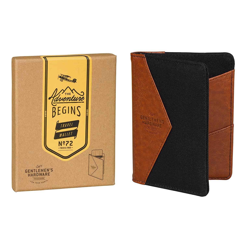 Gentlemen's Hardware Passport Wallet