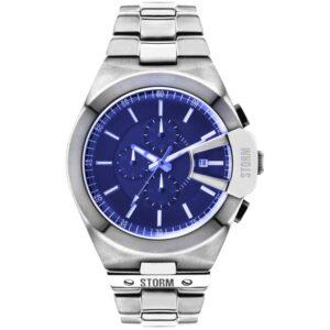 Storm Vexitron Silver Watch