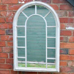 Adobe Outdoor Norwich Metal Mirror