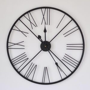 Adobe Outside Evian Skeleton Clock 62x25x63cm