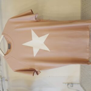 Chalk Darcy Pink T Shirt with White Star