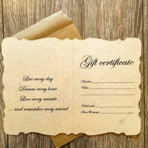 La Maison Gift Certificate