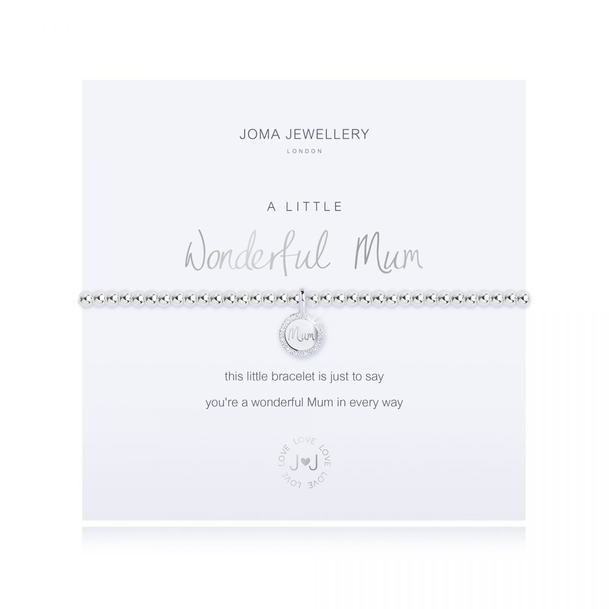 Joma A Little 'Wonderful Mum' Bracelet