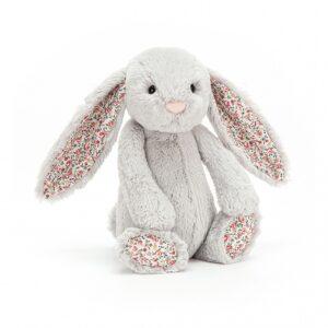 Jellycat Blossom Silver Bunny Tiny