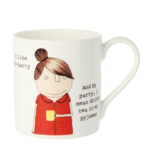 Rosie Made a Thing 'I Like to Party' Mug