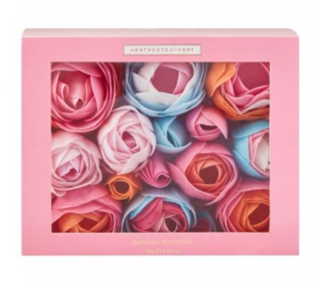 Heathcote & Ivory Pinks and Pear Blossom Bathing Flowers
