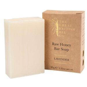 The Bee Company Raw Honey Soap - Lavender