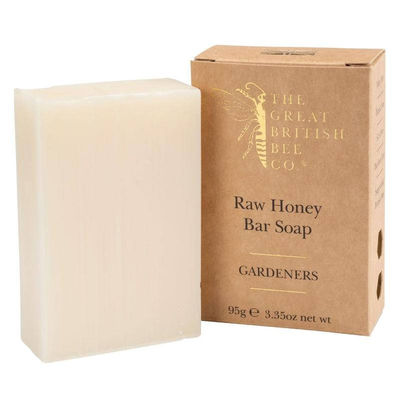 The Bee Company Raw Honey Soap - Gardeners