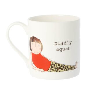 Rosie Made a Thing 'Diddly Squat' Double Sided Mug