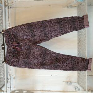 Studio Purple Animal Print Trouser