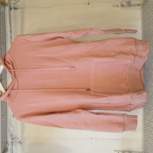 Moocci Pink Hooded Sweater Angel Wing Back