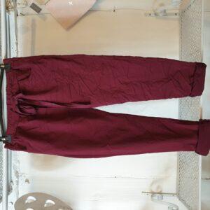 Studio Wine Plain Trouser