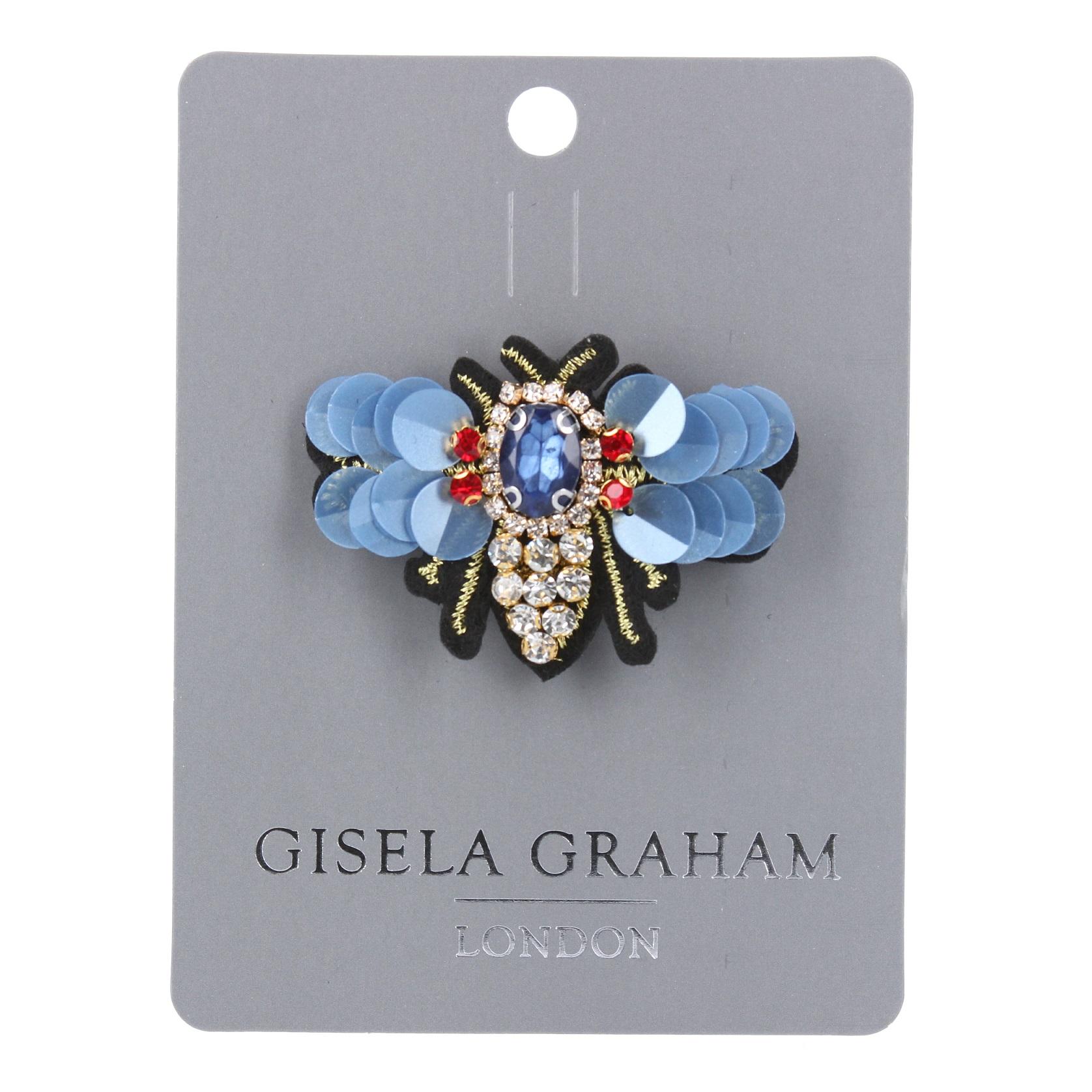 Gisela Graham Sequin Bee Broach