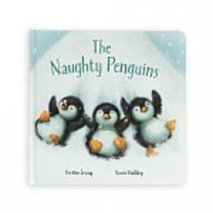 Jellycat Naughty Penguins book
