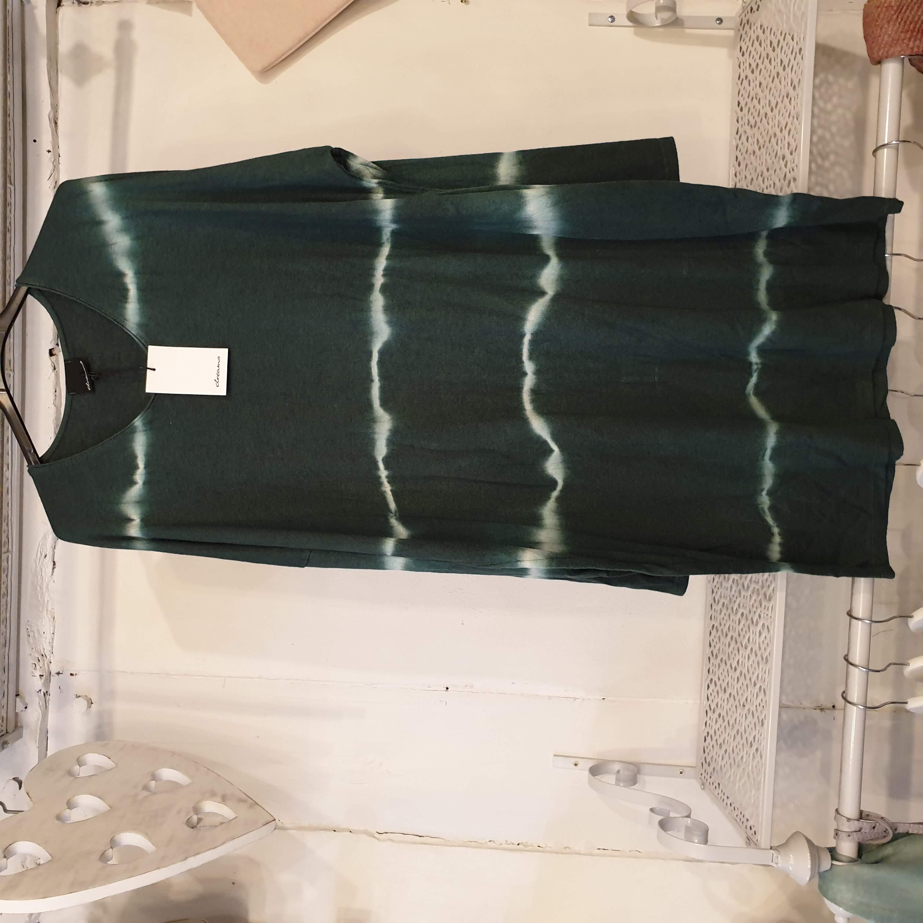 Studio Green Tie Dye Knitted Tunic Dress