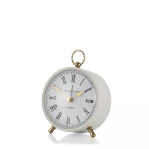 """Thomas Kent 4"""" Wren Mantel Clock Smoke"""