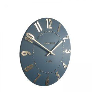 "Thomas Kent 12"" Mulberry Wall Clock Midnight Blue"