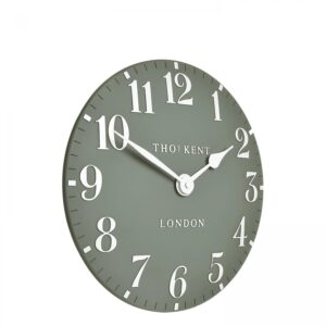 "Thomas Kent 12"" Arabic Wall Clock Seagrass"