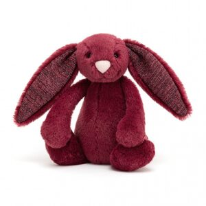 Jellycat Bashful Sparkly Cassis Bunny Small