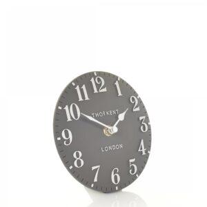 "Thomas Kent 6"" Arabic Mantel Clock Dolphin"