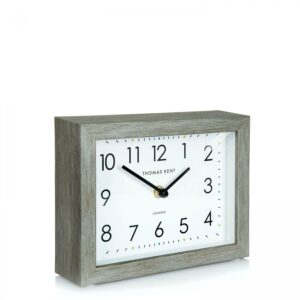 "Thomas Kent 7"" Smithfield Mantel Clock Limestone"