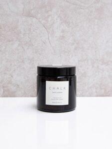 Chalk Candle 120ml   White Jasmine