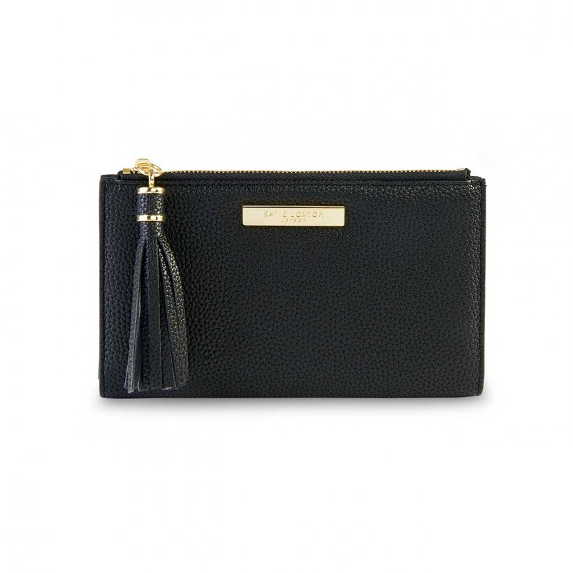 Katie Loxton Tassel Fold Out Purse | Black