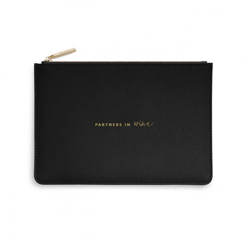 Katie Loxton Perfect Pouch | Partners in Wine | Black
